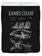 Eames Chair Patent 4 Duvet Cover