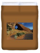 Ear Of The Wind Arch Duvet Cover