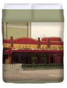 Earl Of Sandwich Downtown Disneyland Duvet Cover