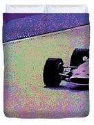 Early 60's Era Formula 1 Race Duvet Cover