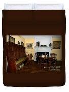 Early American Dining Room Duvet Cover