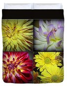 Early Autumn Blossoms Duvet Cover