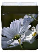 Early Dawns Light On Fall Flowers 02 Duvet Cover