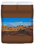 Early Evening Light At Coyote Buttes Duvet Cover
