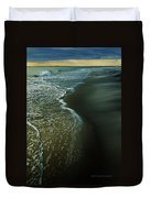Early Evening Surf Duvet Cover