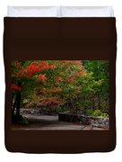 Early Fall At Talimena Park Duvet Cover