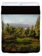 Early Fall On Kebler Pass Duvet Cover