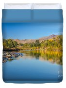 Early Fall On The Payette Duvet Cover