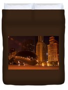 Early Hours In Chicago Duvet Cover