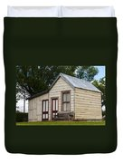 Early Miner's House Duvet Cover