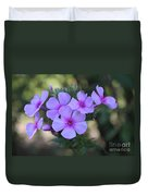 Early Morning Floral Beauty  Duvet Cover
