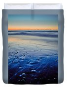 Early Morning On A Sea Coast Duvet Cover