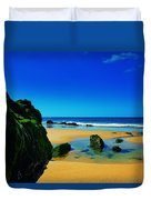 Early Morning On The Beach II Duvet Cover