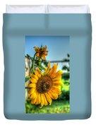 Early Morning Sunflower Duvet Cover