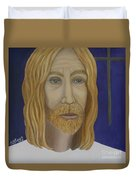 Early Perception Of Jesus. Duvet Cover