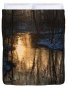 Early Winter Morning Duvet Cover