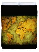 Earth And Brine Duvet Cover