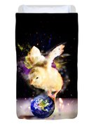 Earth Chick Duvet Cover