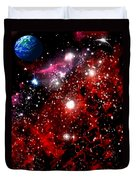 Earth From Space Duvet Cover