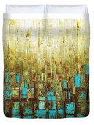 Abstract Geometric Mid Century Modern Art Duvet Cover