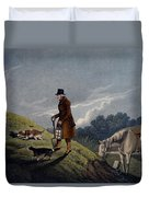 Earth Stopper, 1820 Duvet Cover