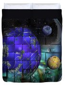 Earthday 2014- The View From On High Duvet Cover