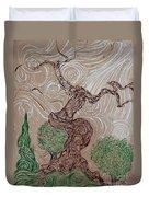 Earthen Tree Duvet Cover