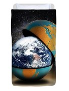 Earths Protective Cover Duvet Cover