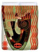 Earthy Woman Duvet Cover