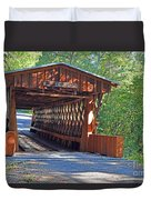 Easley Covered Bridge Duvet Cover