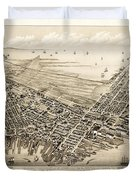 East Boston 1879 Duvet Cover