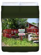 East End Farmstand Duvet Cover