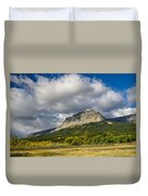 East Flattop Mountain Duvet Cover