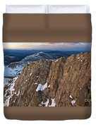 East From Mt. Evans Duvet Cover
