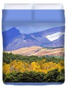 East Glacier Fall Duvet Cover