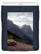 East Glacier National Park Duvet Cover