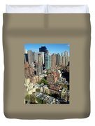 East Midtown Aerial Duvet Cover