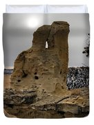 East Montana Formations Duvet Cover