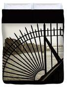 East River Spoke - New York City Duvet Cover