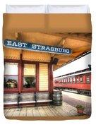 East Strasburg Station Duvet Cover