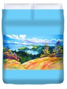 Easter Bluff View Duvet Cover