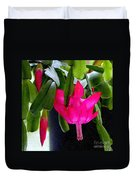 Easter Cactus Digtial Painting Square Duvet Cover