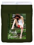 Easter Card 5 Duvet Cover