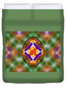 Easter Egg 3d Duvet Cover