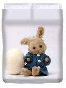 Easter Egg And Bunny Duvet Cover