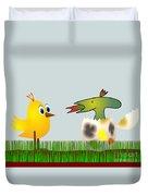 Easter Egg - Disagreeable Surprise Duvet Cover