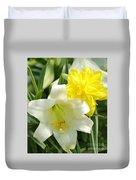 Easter Flowers Duvet Cover