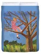 Easter In The Apple Tree Duvet Cover