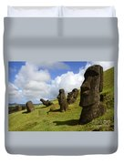 Easter Island 1 Duvet Cover
