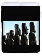 Easter Island 11 Duvet Cover
